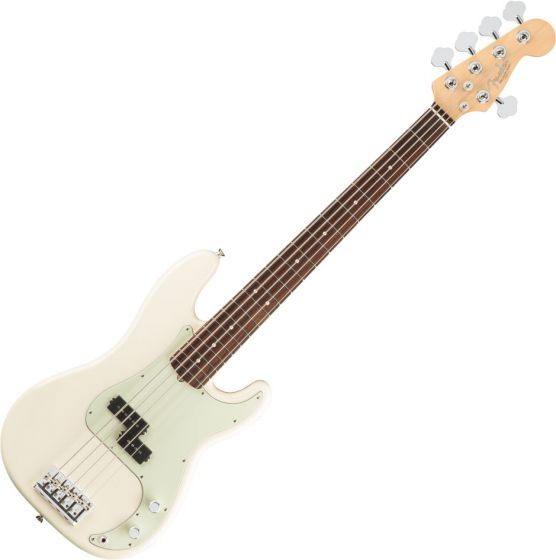 Fender American Pro Precision Bass Electric Guitar V Olympic White 0194650705
