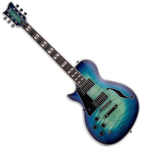 ESP LTD Xtone PS-1000 Left-Handed Electric Guitar Violet Shadow XPS1000FMVSHLH