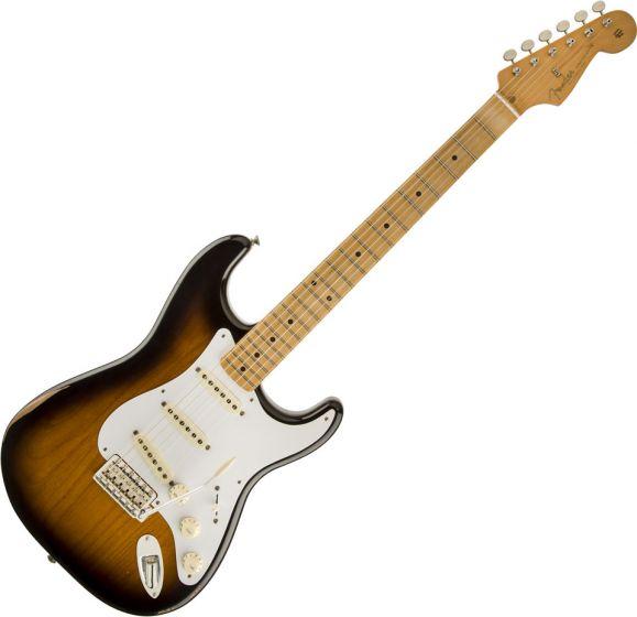 Fender Road Worn 50s Stratocaster Electric Guitar in 2-Color Sunburst 0131012303