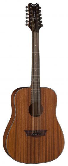 Dean AXS Dreadnought 12 String Acoustic Guitar Mahogany AX D12 MAH AX D12 MAH