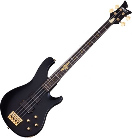 Schecter Signature Johnny Christ Electric Bass in Satin Black Finish sku number SCHECTER213