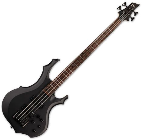 ESP LTD F-204 Electric Bass Black Satin LF204BLKS