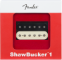 Fender ShawBucker 1 Humbucking Pickup - Zebra 0992249001