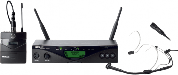 AKG WMS470 PRESENTER SET BD1 - Professional Wireless Microphone System 3309H00010