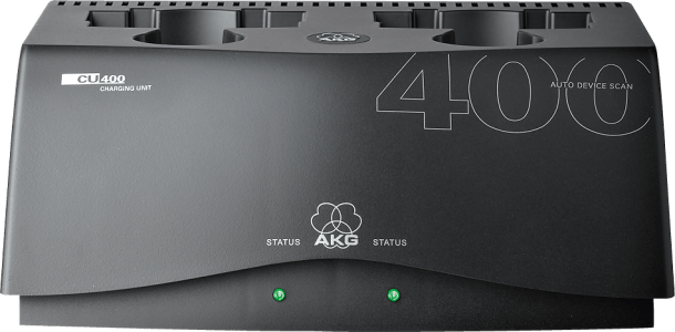 AKG CU400 Chargin Unit for WMS450 and WMS470 Series Transmitters 2934H00010