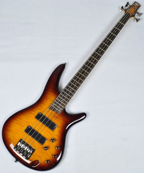 Ibanez SR400QM-BBT SR Series Electric Bass in Brown Burst Finish SR400QMBBT