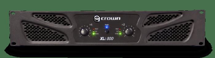 Crown Audio XLi 800 Two-channel 300W Power Amplifier NXLI800-0-US