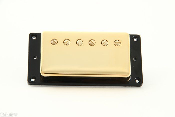 Seymour Duncan Humbucker SH-55N Seth Lover Model 4-Conductor Neck Pickup Gold Cover 11101-20-Gc4C