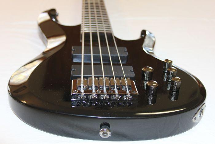 ESP LTD B-205 Black Sample/Prototype Bass Guitar 6SLB205BLK