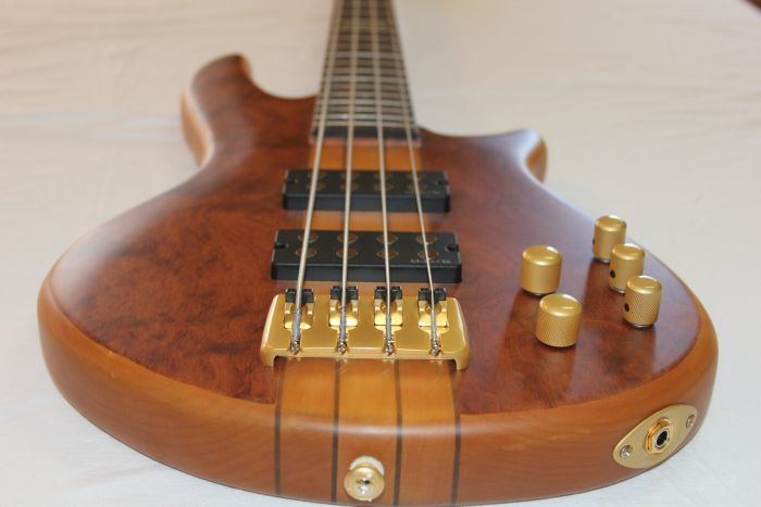 ESP LTD C-304 HSNBB Sample/Prototype Bass Guitar 6SLC304HSNBB