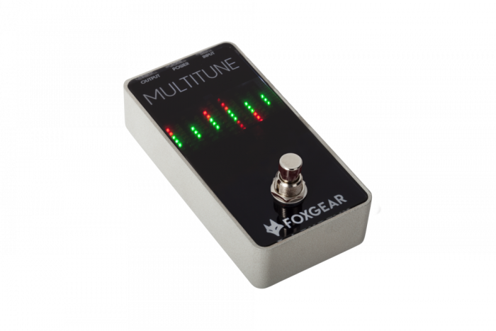FoxGear Multitune Polyphonic Tuner Pedal FOX-MULTI