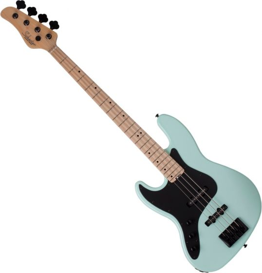 Schecter J-4 Left Handed Electric Bass in Sea foam Green SCHECTER2914
