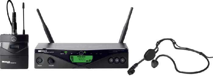 AKG WMS470 Sports Set BD7 - Professional Wireless Microphone System 3308H00370