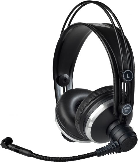 AKG HSC171 Professional Headsets with Condenser Microphone 2955X00310 sku number 2955X00310