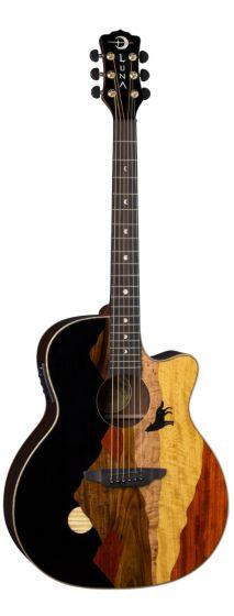 Luna Vista Wolf Tropical Wood Acoustic Electric Guitar VISTA WOLF VISTA WOLF