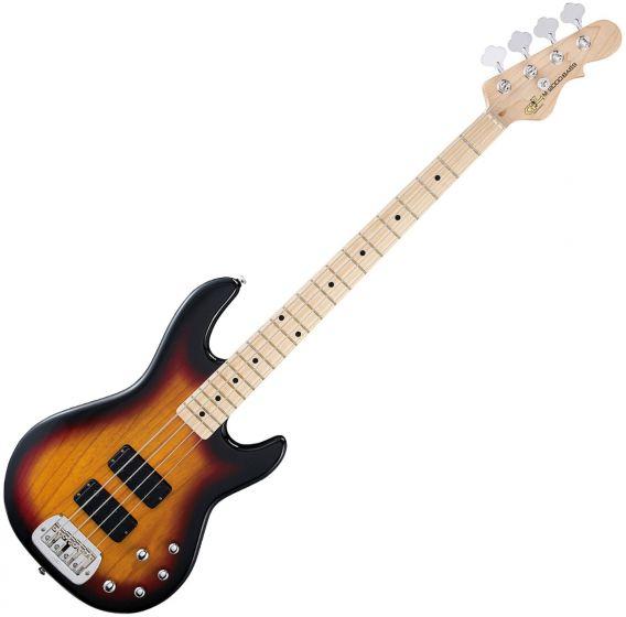 G&L Tribute M-2000 Bass Guitar in 3-Toneburst Finish sku number TI-M20-3TSB-MP