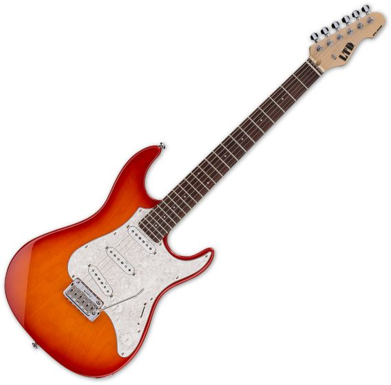 ESP LTD SN-200W Electric Guitar Copper Sunburst LSN200WRCPRSB