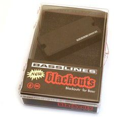 Seymour Duncan ASB-BO-5N Blackouts For Bass 5-String Neck Pickup 11407-09