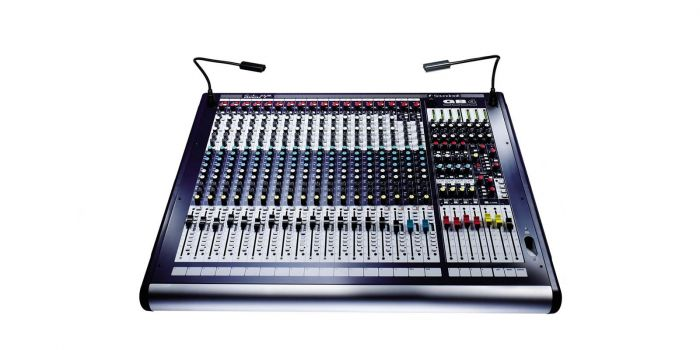 Soundcraft GB4 16ch  16+4/4/2 GB Series Console B-Stock RW5690SM.B