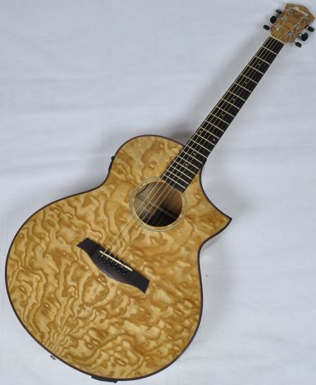 Ibanez AEW40AS-NT AEW Series Acoustic Electric Guitar in Natural High Gloss Finish sku number AEW40ASNT
