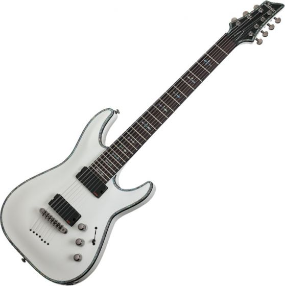 Schecter Hellraiser C-7 Electric Guitar Gloss White SCHECTER1810