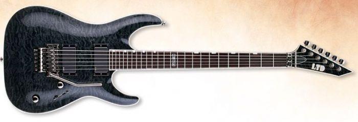 ESP LTD MH-350FR Guitar In See-Through Black LMH350FRSTBLK