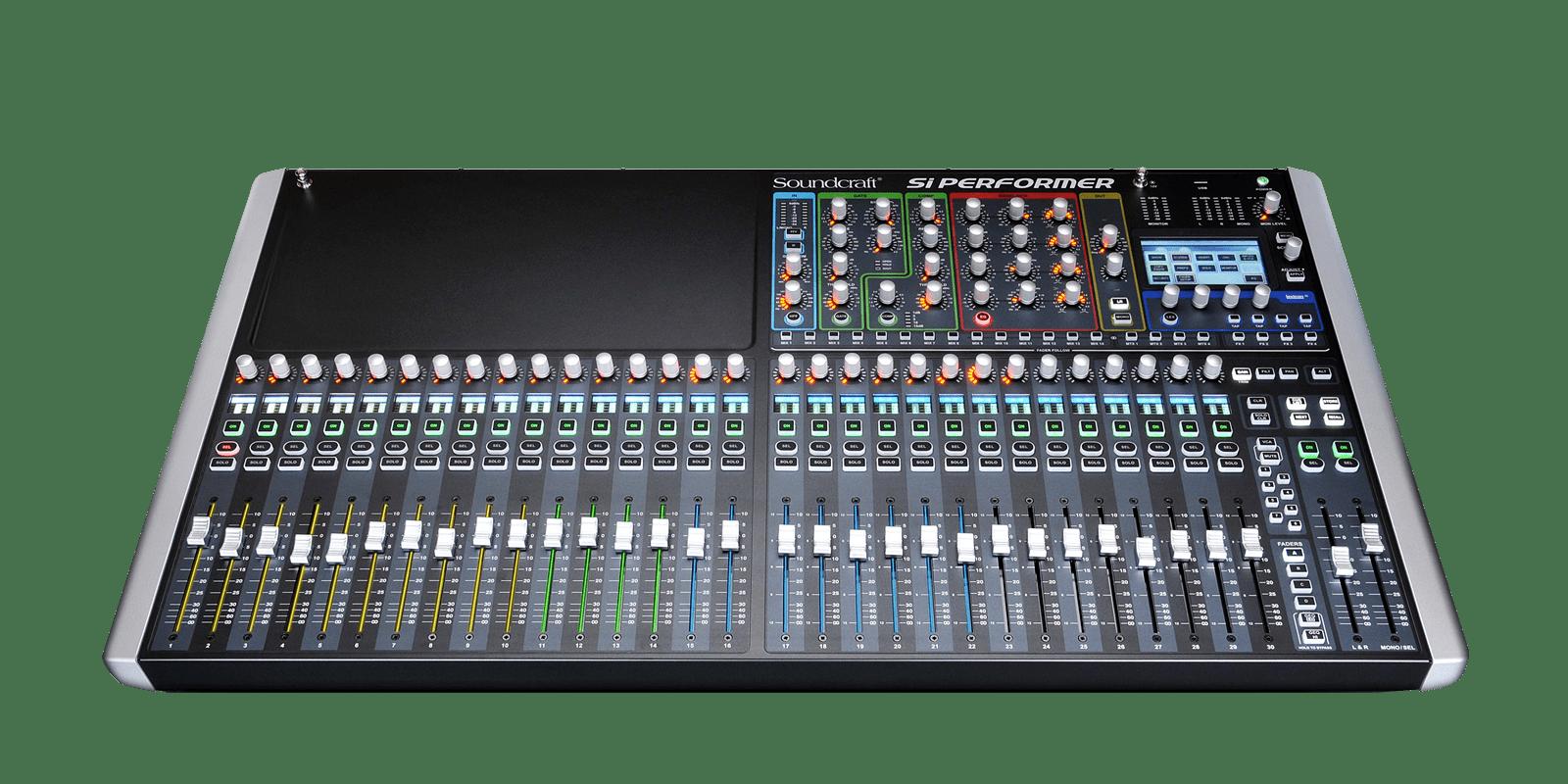 soundcraft si performer 3 digital live sound mixer b stock 5001849 b. Black Bedroom Furniture Sets. Home Design Ideas