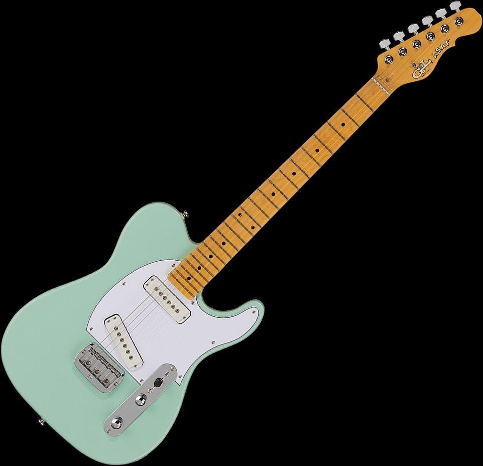 g l tribute asat special electric guitar surf green ti asp 131r51m13. Black Bedroom Furniture Sets. Home Design Ideas