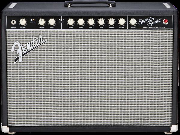 Fender Super-Sonic 22 Combo Tube Amp - Black