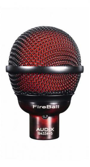 Audix Fireball Professional Microphone for Harmonica and Beatbox 54923