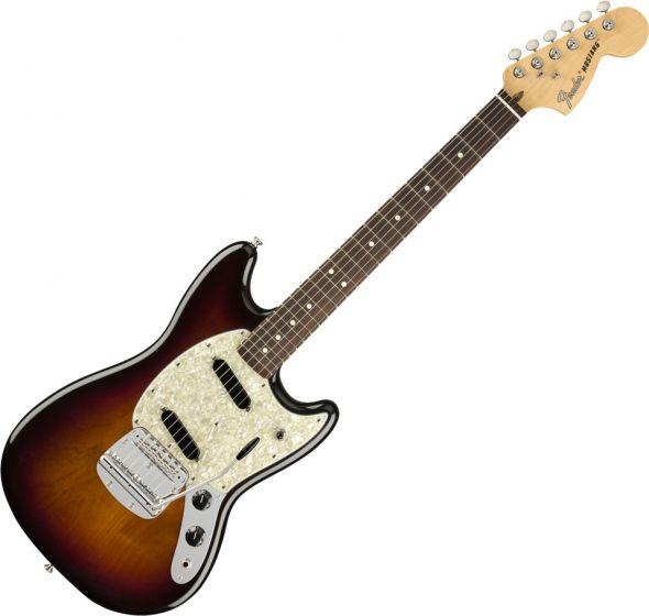 Fender American Performer Mustang Electric Guitar in 3-Color Sunburst 0115510300