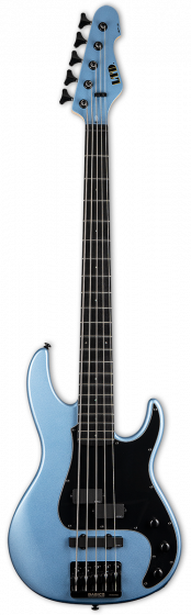 ESP LTD AP-5 Pelham Blue 5 String Bass Guitar LAP5PB