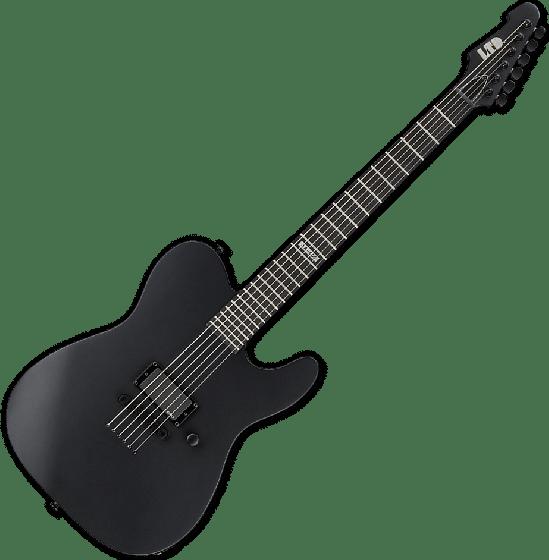 ESP LTD AA-600 Alan Ashby Electric Guitar in Black Satin LAA600BLKS