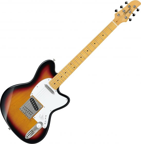 Ibanez Talman Standard TM302M Electric Guitar Tri Fade Burst TM302MTFB