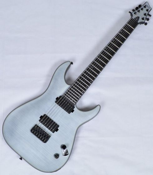 Schecter KM-7 Keith Merrow Electric Guitar in Trans White Satin Finish sku number SCHECTER235