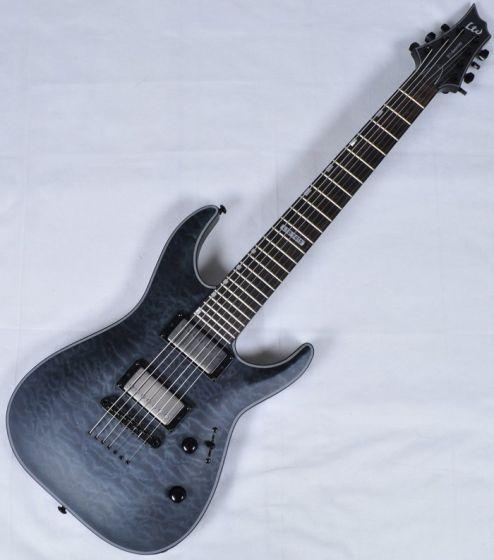 ESP LTD H7-2015 40th Anniversary Guitar in See Thru Black LH72015STBLK