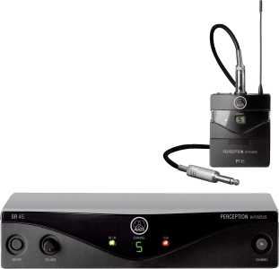 AKG Perception Wireless 45 Instr Set BD U2 - High Performance Wireless Microphone System 3250H00090