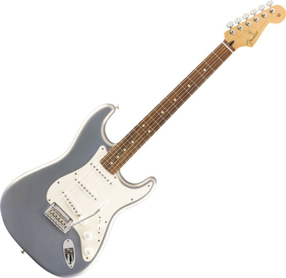 Fender Player Stratocaster Electric Guitar Silver 0144503581