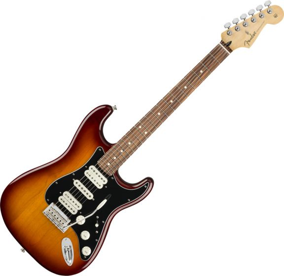 Fender Player Stratocaster HSH Electric Guitar Tobacco Burst 0144533552
