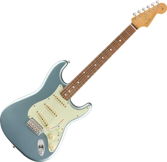 Fender Vintera '60s Stratocaster Electric Guitar Ice Blue Metallic 0149983383