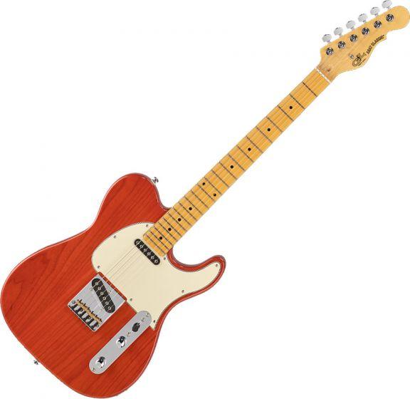 G&L Tribute ASAT Classic Electric Guitar Clear Orange TI-ACL-121R46M73