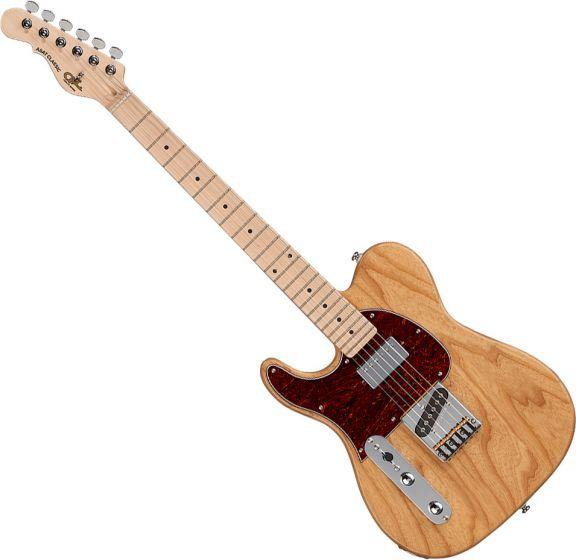 G&L Tribute ASAT Classic Bluesboy Left-Handed Electric Guitar Natural Gloss TI-ACB-120L20M40