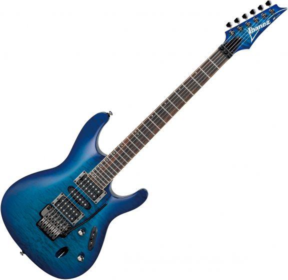 Ibanez S Standard S670QM Electric Guitar Sapphire Blue S670QMSPB