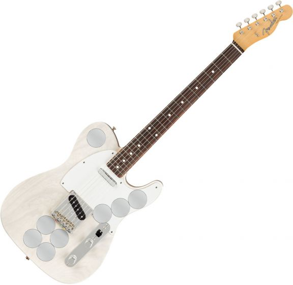 Fender Jimmy Page Mirror Telecaster Electric Guitar in White Blonde 0119210801