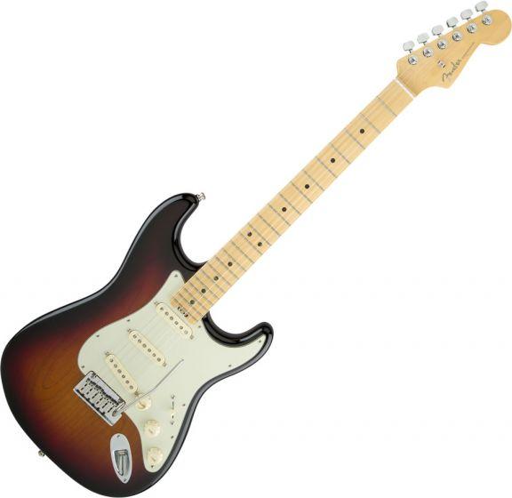 Fender American Elite Stratocaster Electric Guitar in 3-Color Sunburst 0114002700