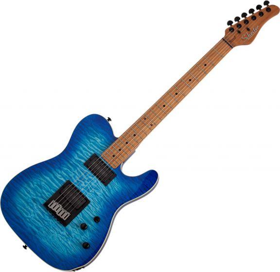 Schecter PT Pro Electric Guitar Trans Blue Burst SCHECTER864