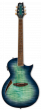 ESP LTD TL-6 Thinline Aqua Marine Burst Electric Guitar LTL6FMAQMB