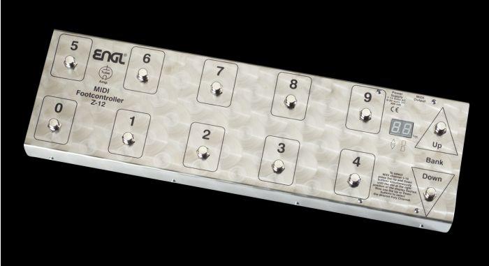 ENGL Amps Z-12 MIDI FOOT CONTROLLER Z12