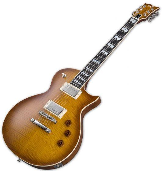 ESP USA Eclipse Electric Guitar in Tea Sunburst EUSECTSB