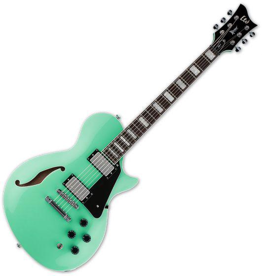 ESP LTD PS-1 Semi-Hollow Electric Guitar Sea Foam Green XPS1SFG